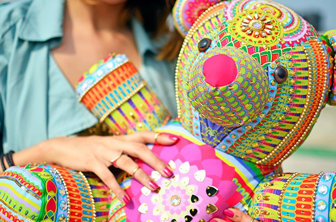 Manish Arora Teddy Bear | ExclusivelyIn | Akanksha Redhu | teddy detail