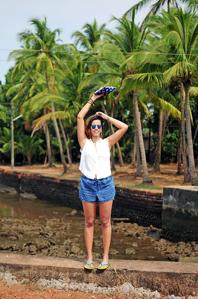 Blanc Frais | Goa | Akanksha Redhu | full front far arms up