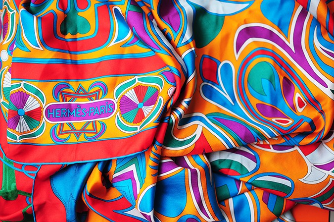 Folklore | Hermes | Akanksha Redhu | brand name on scarf