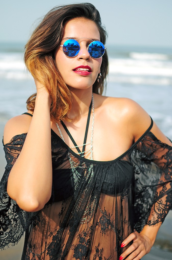 Sheer Bliss | Goa | Akanksha Redhu | off shoulder