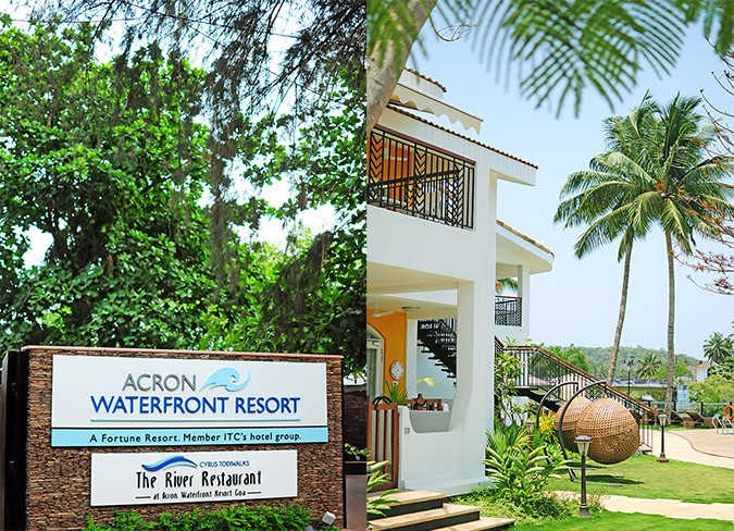 Acron Waterfront Resort | Goa | Akanksha Redhu | name & building