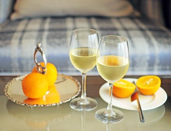 Acron Waterfront Resort | Goa | Akanksha Redhu | wine and oranges