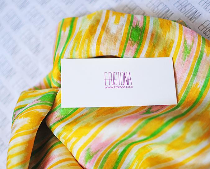 Éclat   Eristona   Akanksha Redhu   scarf branding