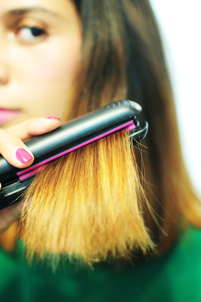 Philips - Selfie Straightener | Akanksha Redhu | hair through the iron