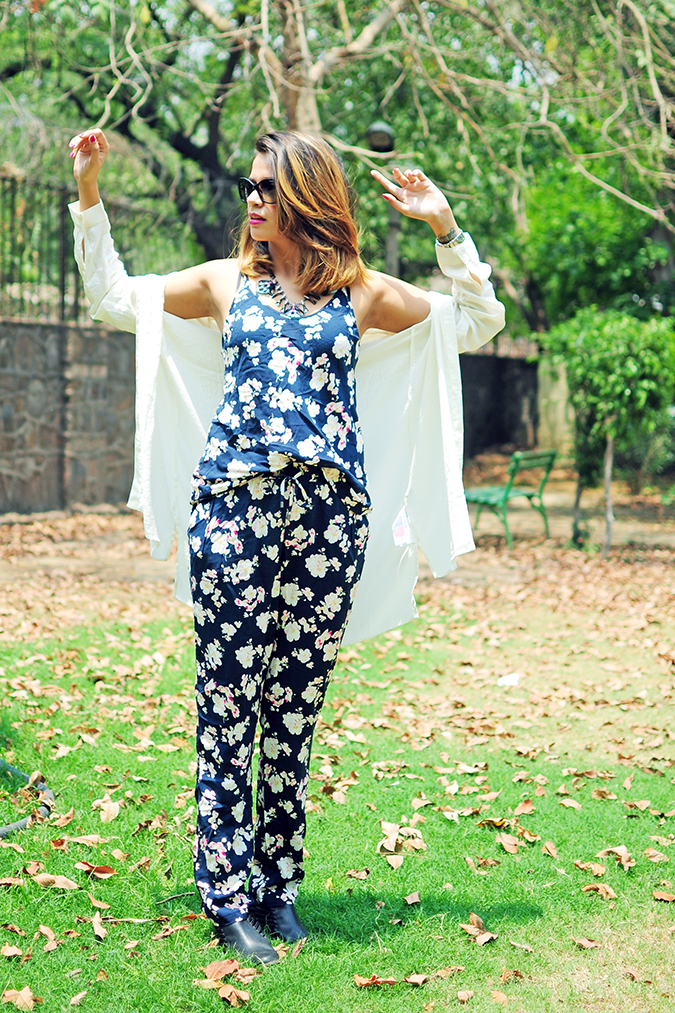 Summer Escape | Akanksha Redhu | full front arms up shirt wide