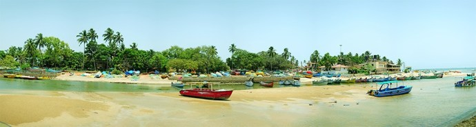 Acron Waterfront Resort | Goa | Akanksha Redhu | panorama of view