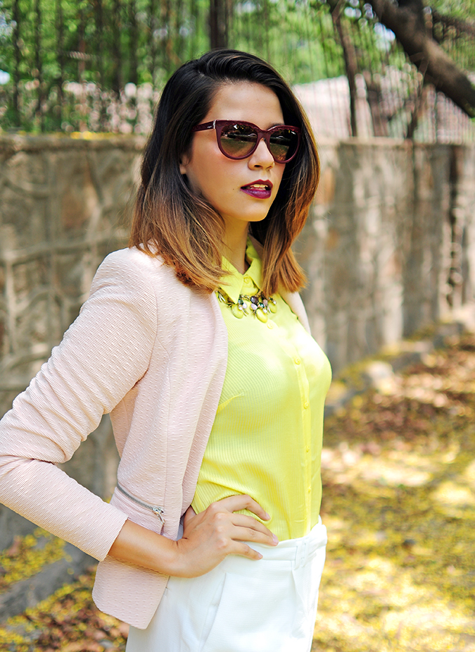 How To Style: Blazers 101 | Akanksha Redhu | half side hand on waist