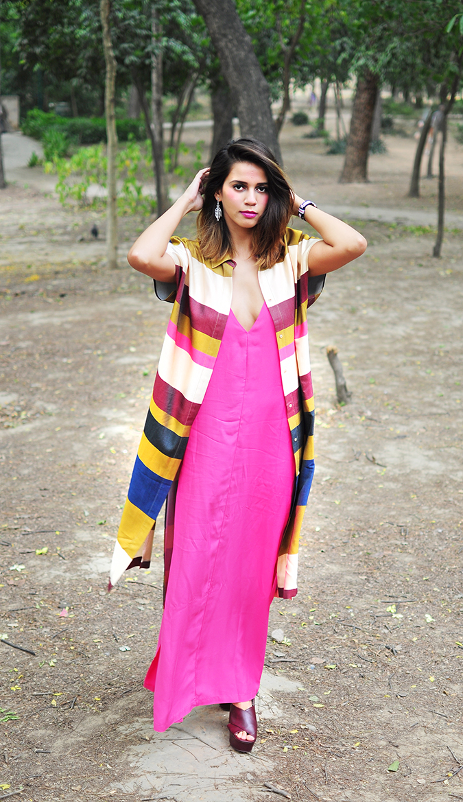 { How to Wear } - Everyday Glam | Akanksha Redhu | full front arms up