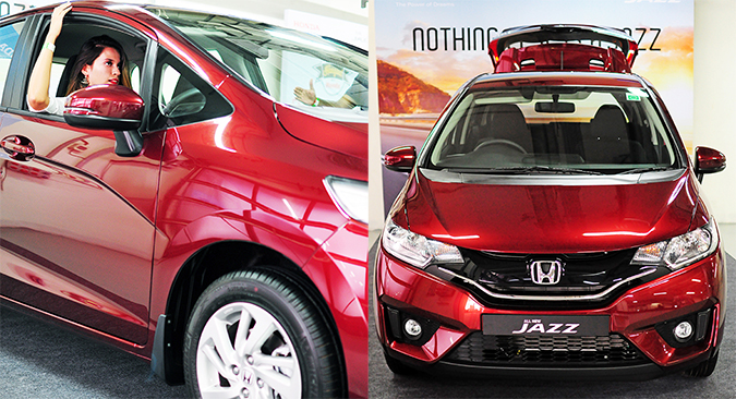 #AllNewJazz | Honda | Akanksha Redhu | sitting in car combo