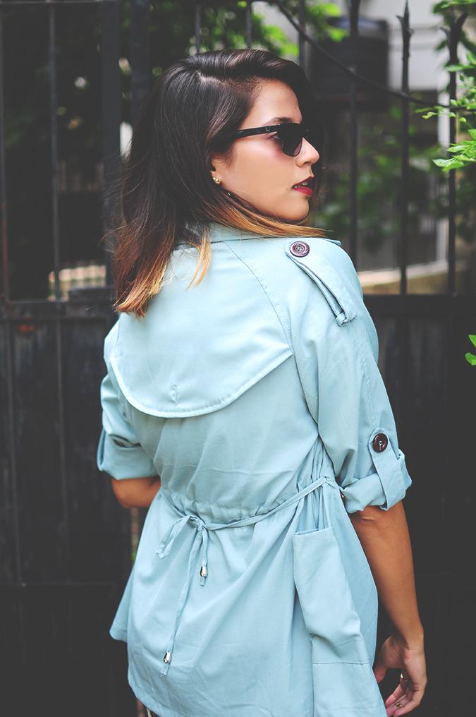 Not Too Dressy | #ootd | Akanksha Redhu | half back jacket