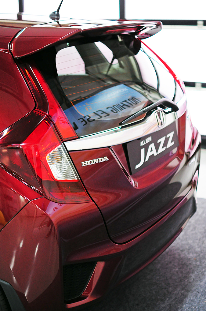 #AllNewJazz | Honda | Akanksha Redhu | back of car