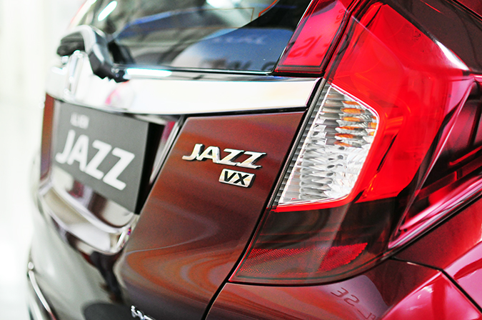 #AllNewJazz | Honda | Akanksha Redhu | branding on back of car
