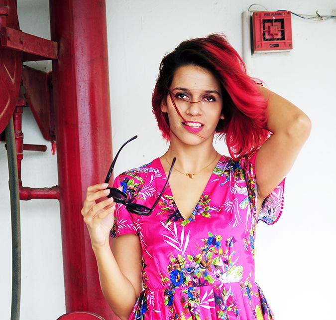 Pink Bloom | #ootd | Akanksha Redhu | face no sunnies