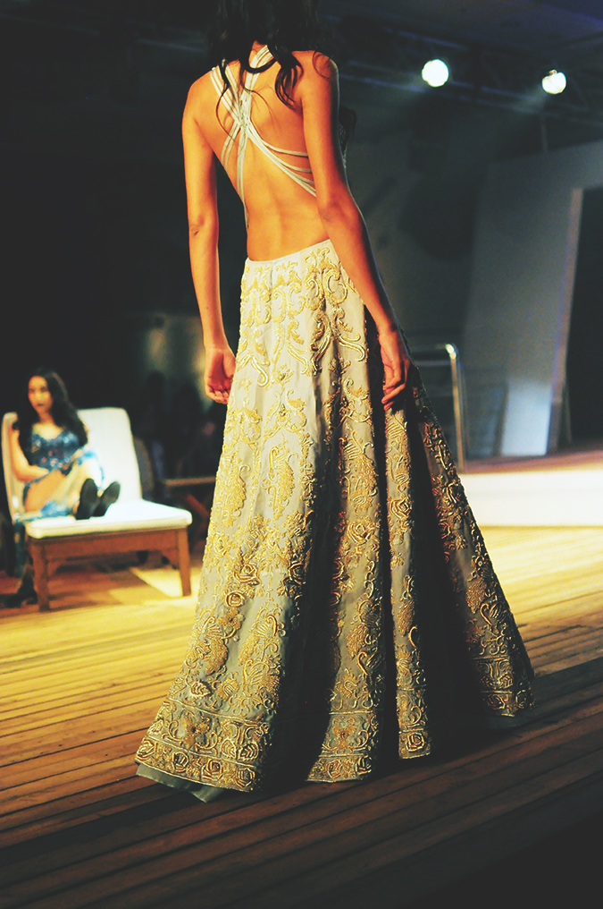 Monisha Jaising | The Sailing Bride | Akanksha Redhu | aicw | backless