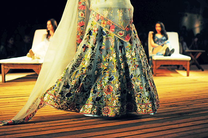 Monisha Jaising | The Sailing Bride | Akanksha Redhu | aicw | foam blue