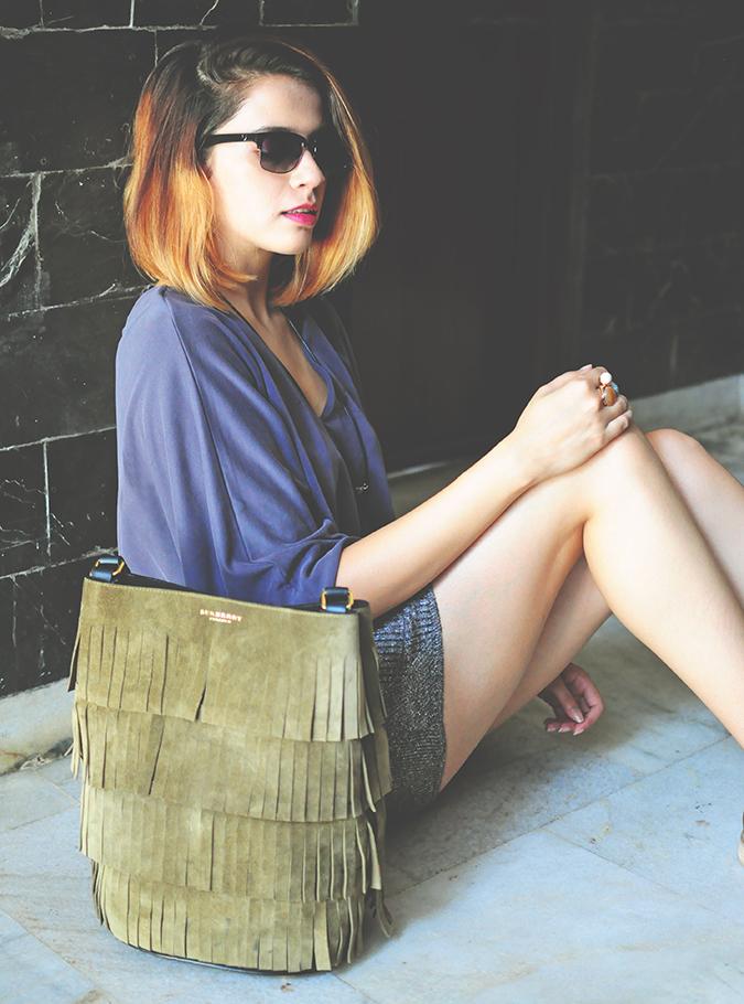 Burberry Bucket Bag | Akanksha Redhu | #ootd | sitting