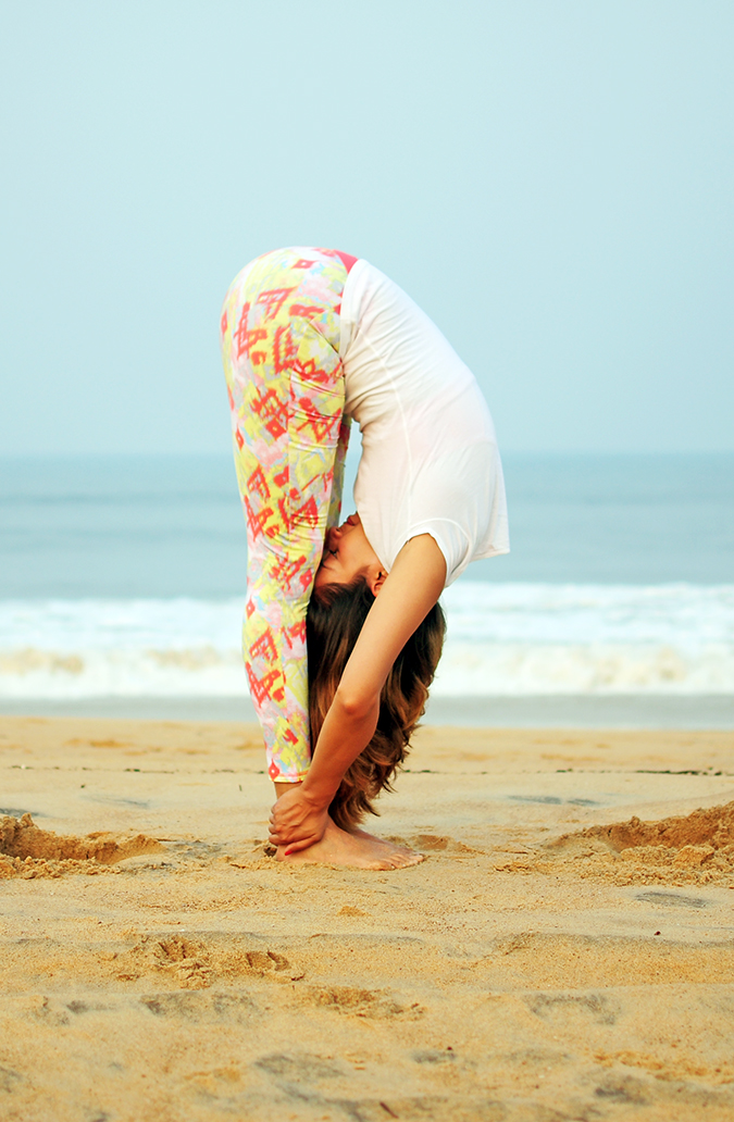 Yoga | Uttanasana - Standing Forward Bend Pose