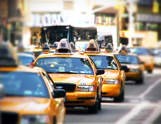 New York with Airbnb | #RedhuxAirbnb | taxis stock