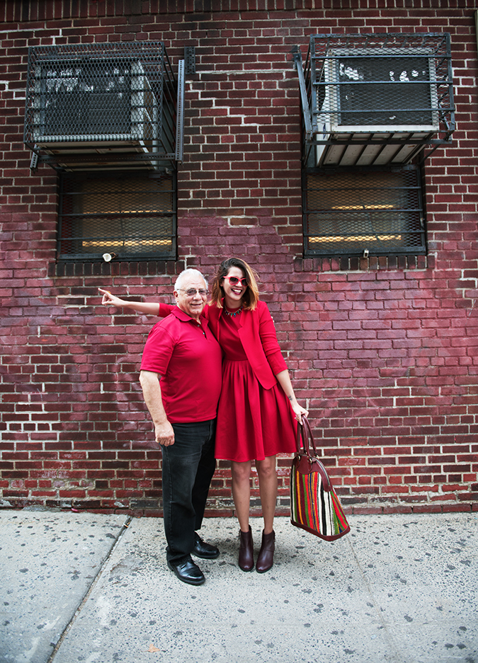 Ludlow Street |New York City | #RedhuxNYC | with red man