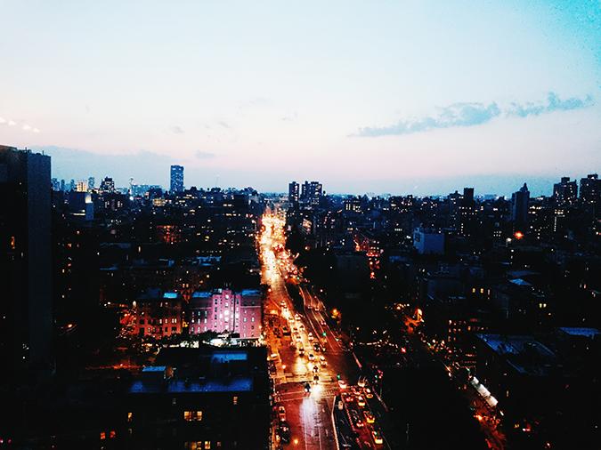 New York City | #RedhuxNYC | night view traffic
