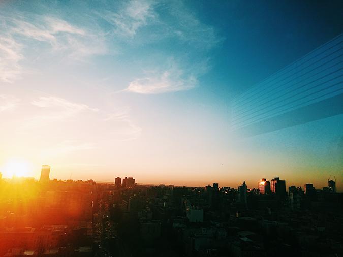 New York City | #RedhuxNYC | sunset