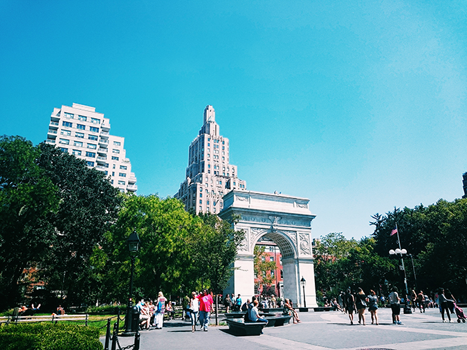 New York City | #RedhuxNYC | washington square park
