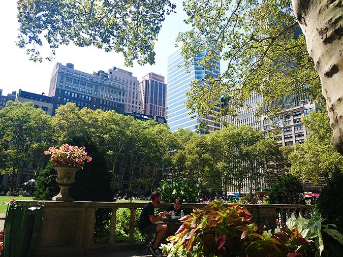 New York City | #RedhuxNYC | bryant park1