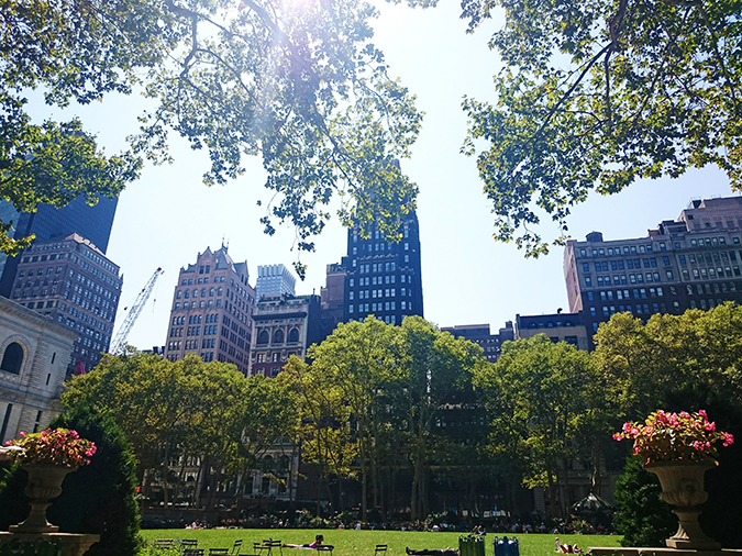 New York City | #RedhuxNYC | bryant park2