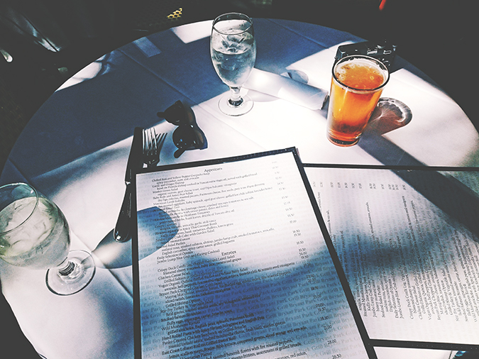 New York City | #RedhuxNYC | bryant park grill menu