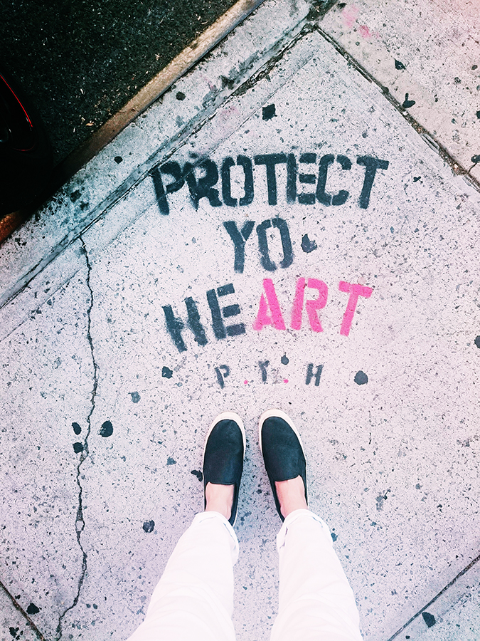 New York City | #RedhuxNYC | protect yo heart