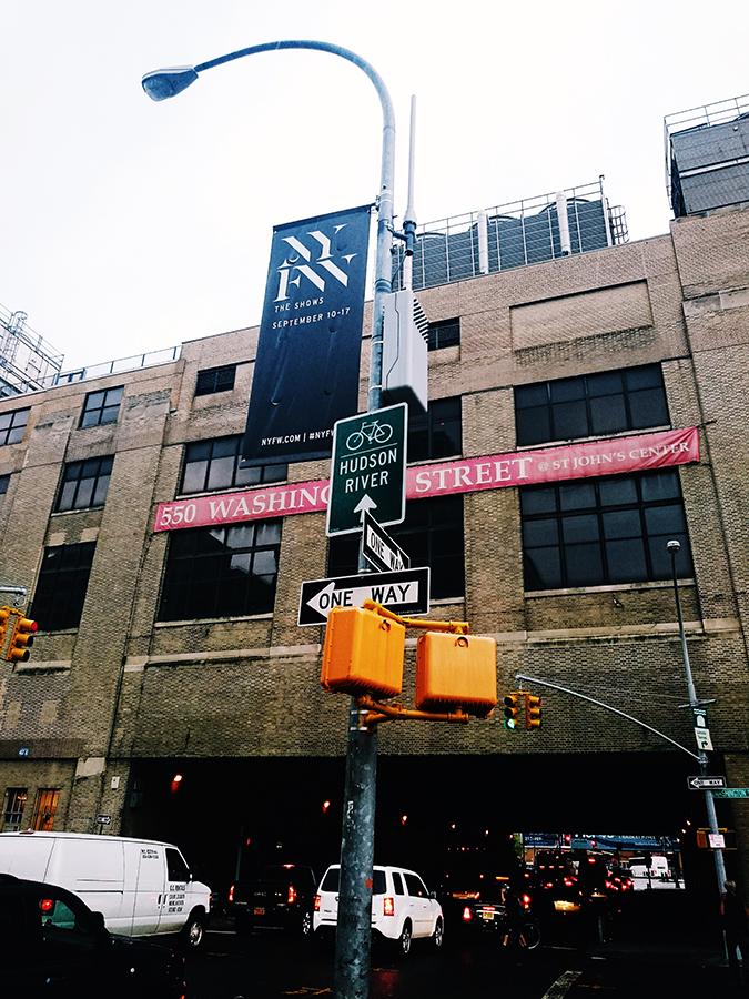 Ohne Titel | NYFW | #RedhuxNYC | clarkson sq