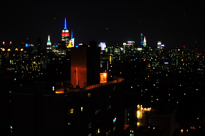 Ludlow Street |New York City | #RedhuxNYC | night view