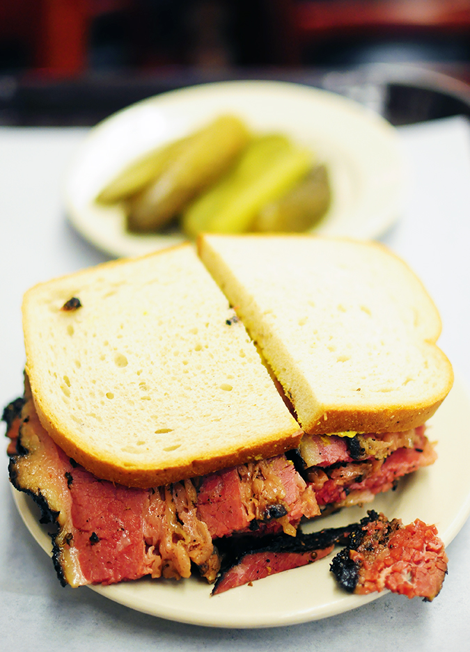 Katz's Delicatessen | #RedhuxNYC | sandwich long