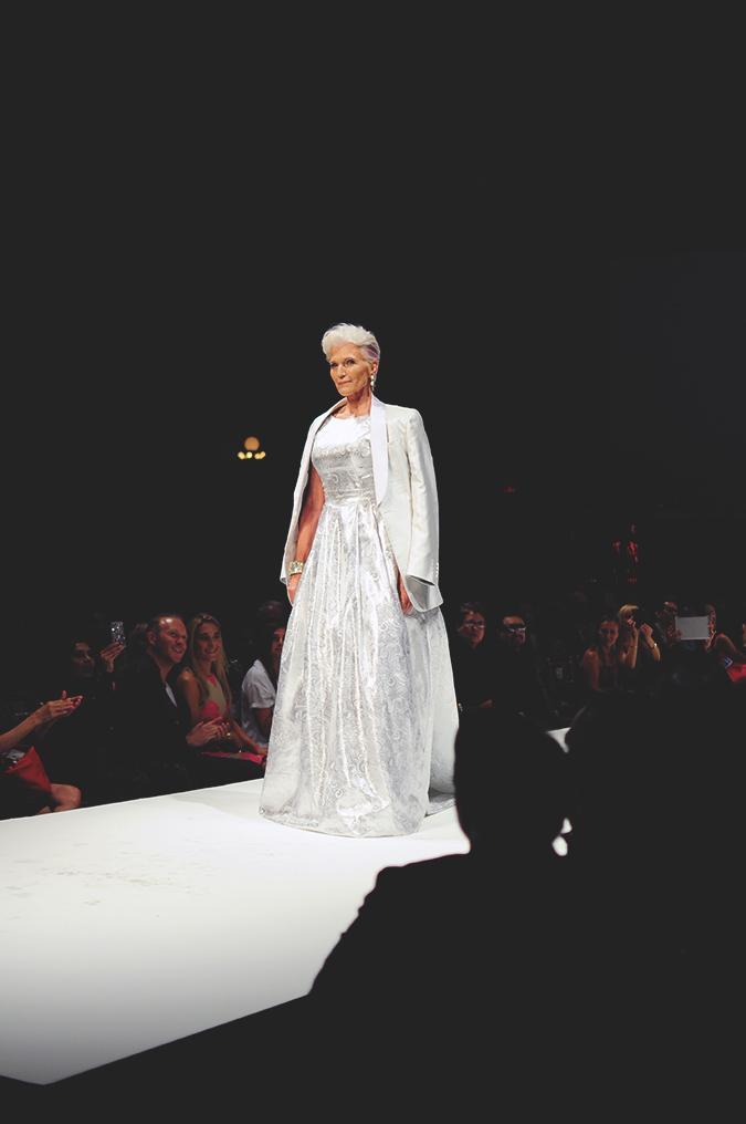 Malan Breton | StyleFW | NYFW | #RedhuxNYC | silver hair