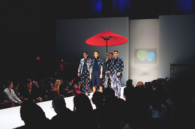 Malan Breton | StyleFW | NYFW | #RedhuxNYC | men with umbrella