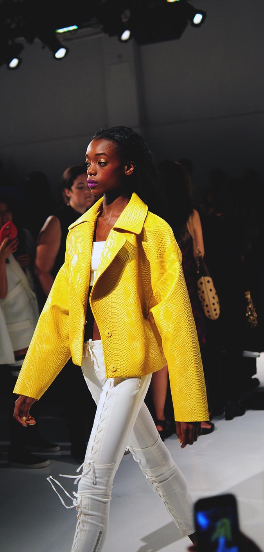 KYE | NYFW | #RedhuxNYC | yellow jacket