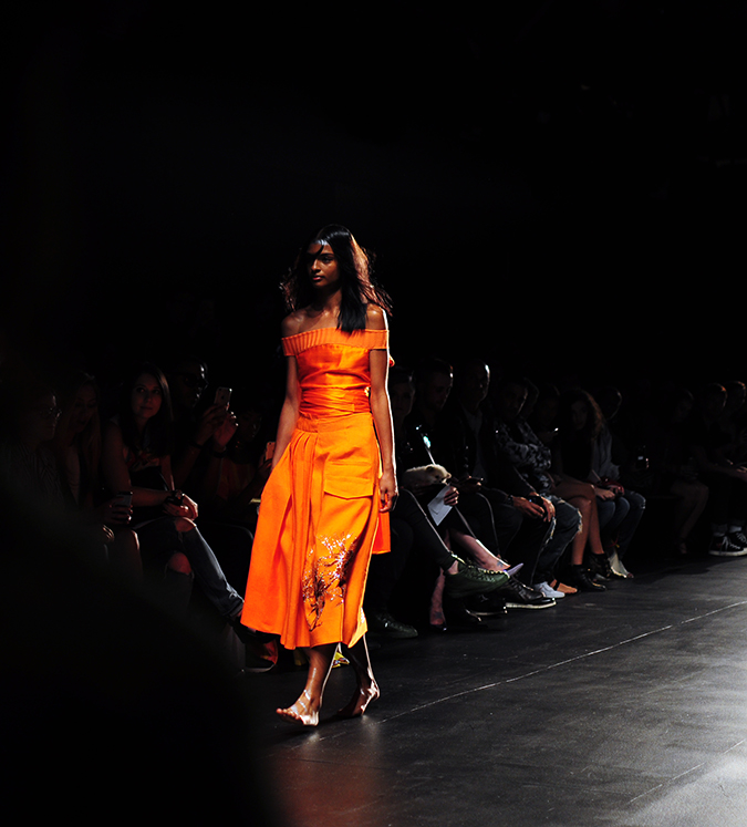Francesca Liberatore | NYFW | #RedhuxNYC | all orange