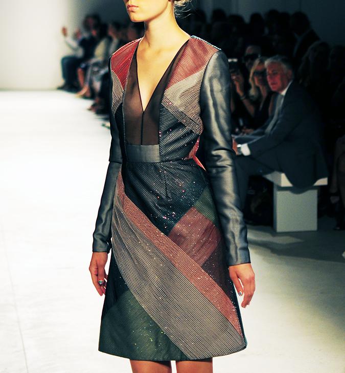 Bibhu Mohapatra | NYFW | Akanksha Redhu | steel sequins dress