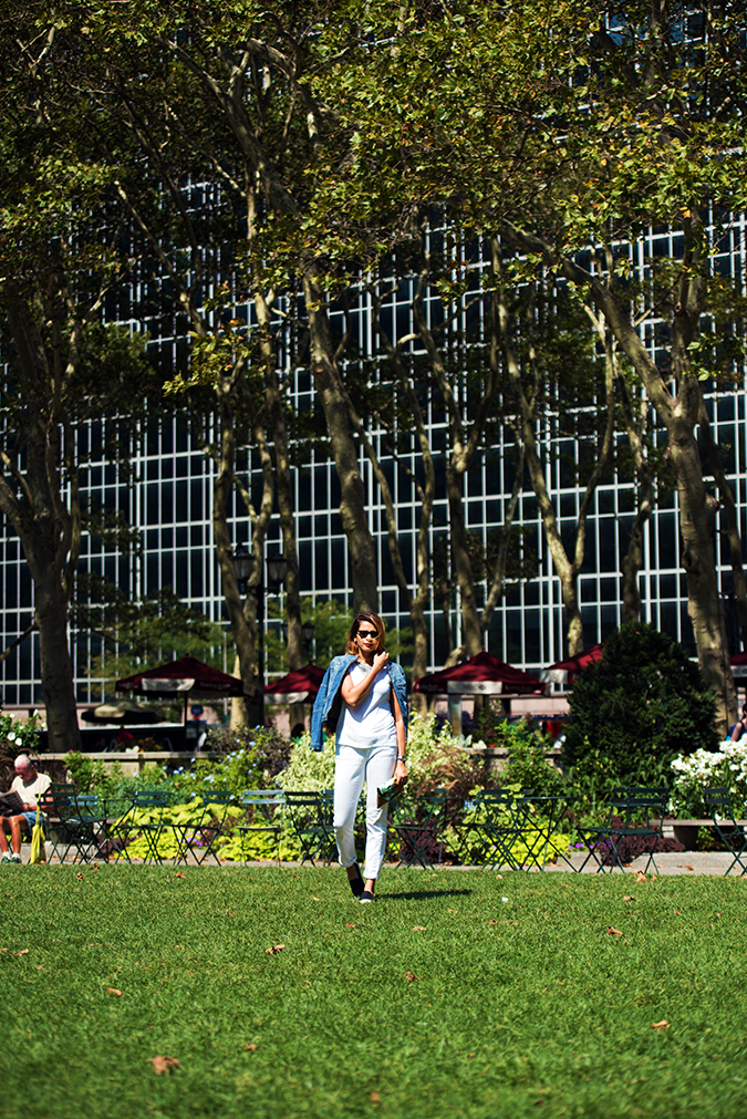 Bryant Park | New York City | #RedhuxNYC | front full far