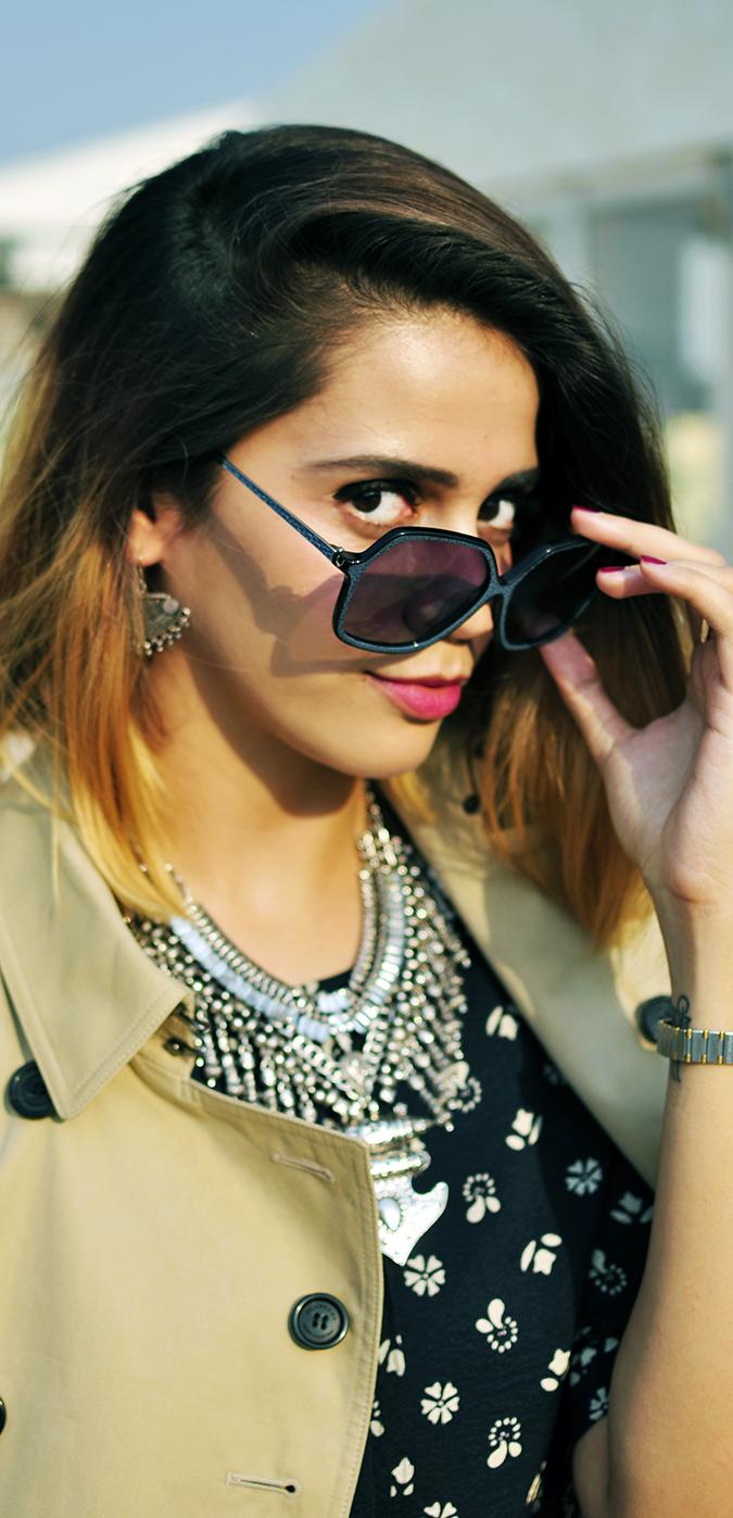 AIFW | Akanksha Redhu | #AIFWSS16 | Burberry | sunglasses