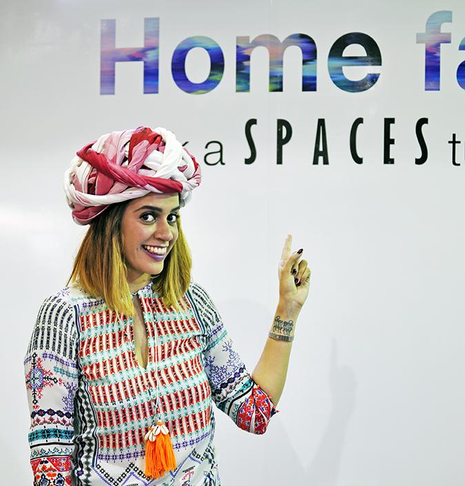 Anamika Khanna | #AIFWSS16 | #findyourspace | turban