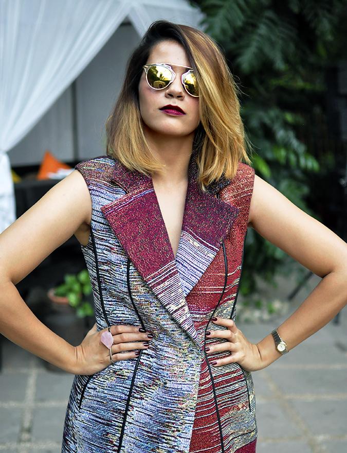 #AIFWSS16 | Dior | Akanksha Redhu | front half armson waist