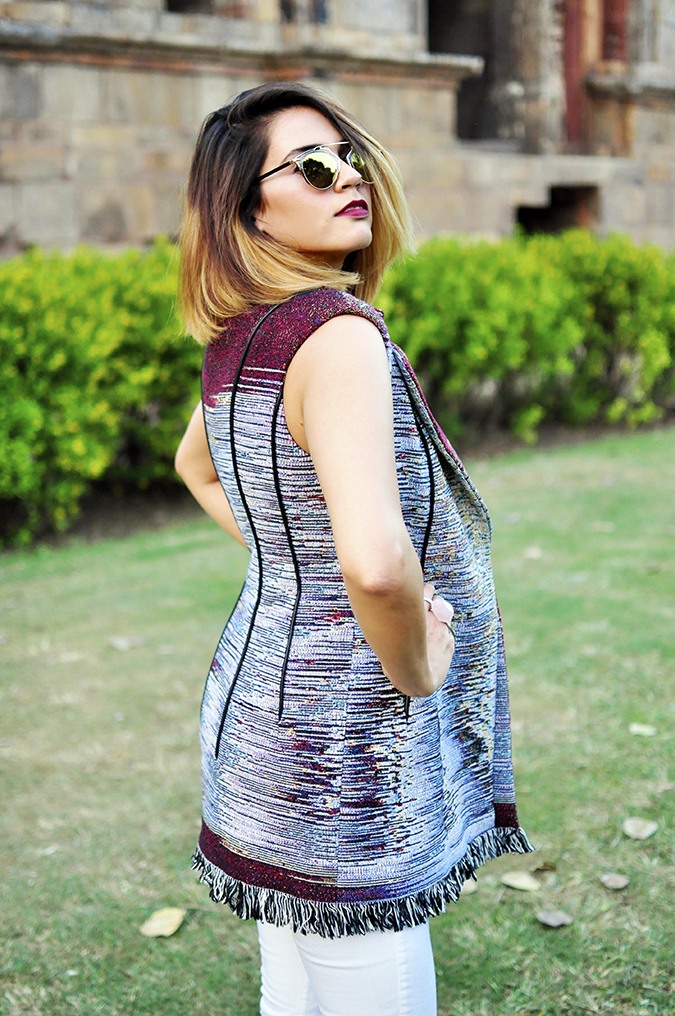 #AIFWSS16 | Dior | Akanksha Redhu | side half back of jacket