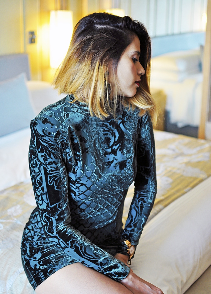 Balmain x H&M | #HMBalmaination | Akanksha Redhu | sitting bed