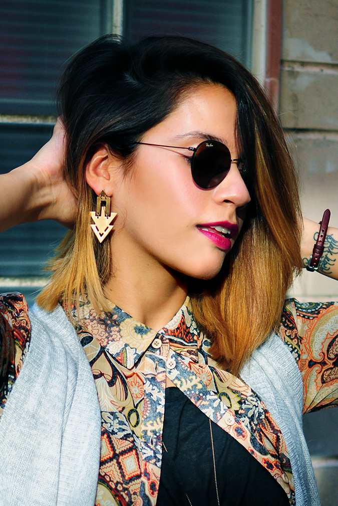 Bohemian Style | Akanksha Redhu | face with light
