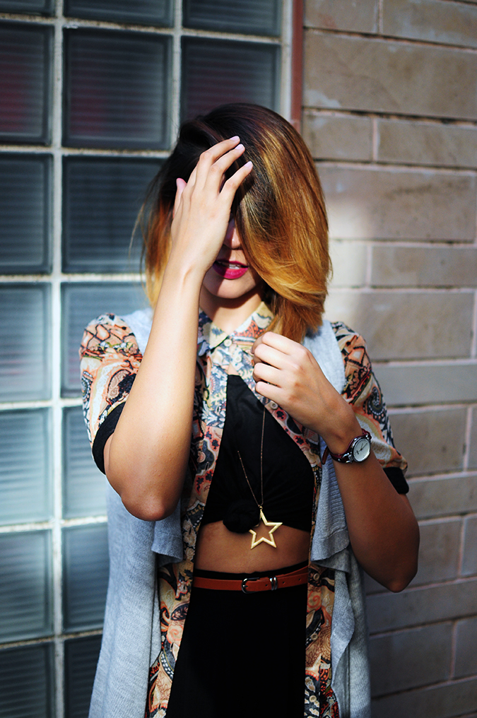 Bohemian Style | Akanksha Redhu | front half hand in front of face