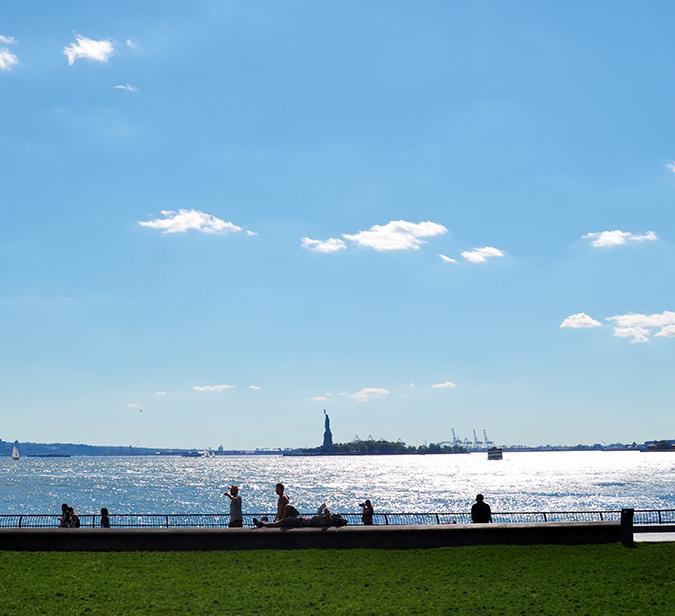 Battery Park | NYC | #RedhuxNYC | statue