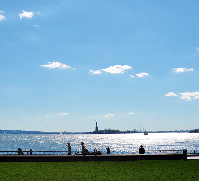 Battery Park | NYC | #RedhuxNYC | statue