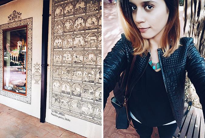 Crafts Museum | New Delhi | Akanksha Redhu | selfie combo