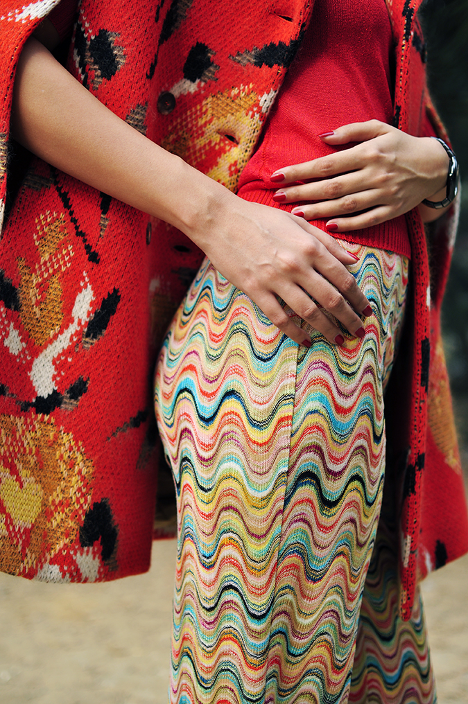 Missoni | Akanksha Redhu | fabric details pants